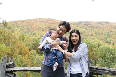Choi family - End of 2014